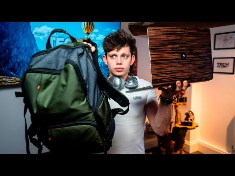 Alex's Ultimate Travel Tech Bag!