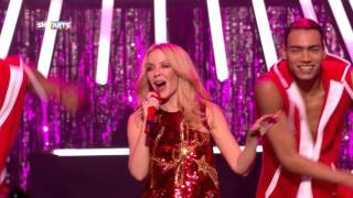Клип Kylie Minogue - Christmas Isn't Christmas 'Til You Get Here (live)