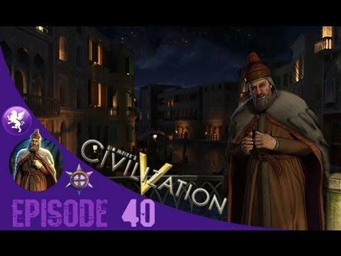 Civilization 5 Brave New World Gameplay: Venice Playthrough Episode 40: More Tourism
