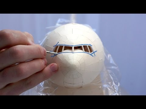 PAINT SHOP // Painting Time-lapse // Air India Model 777-300ER