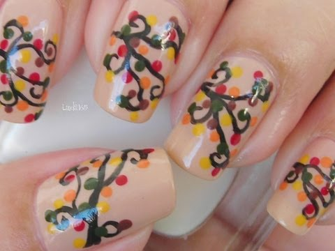 Nail Art - Autumn Leaves