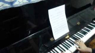 Come Holy Spirit Fall On Me Now piano accompaniment in F major