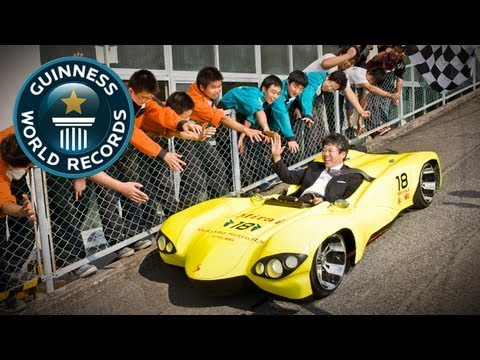 World's Lowest Roadworthy Car - Meet The Record Breakers - Guinness world Records