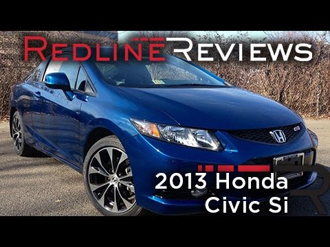 2013 Honda Civic Si Review, Walkaround, Exhaust, & Test Drive