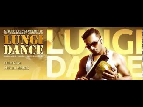 Lungi Dance (chennai Express) Karaoke By Praveen Menezes video