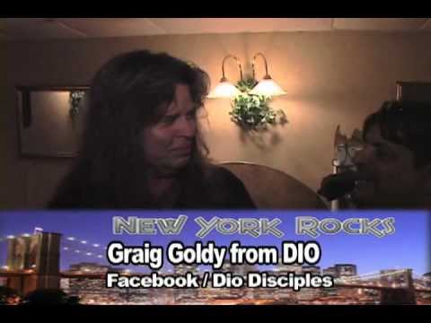 Graig Goldy From DIO on NYROCKSTV