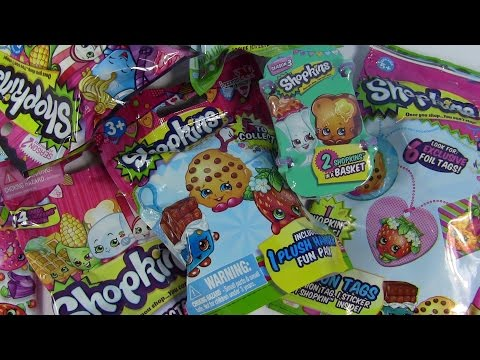 Shopkins Goodie Palooza Fashion Tags Collector Cards & Plush Hangers Shopping Guide| PSToyReviews