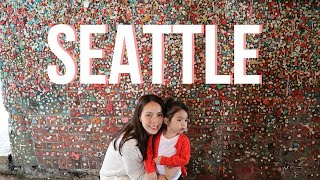 SEATTLE VLOG -- Pike Place Market, Gum Wall, Space Needle & Highlights || Andi Manzano Reyes