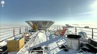 Explorers' heritage of Antarctica on Street View