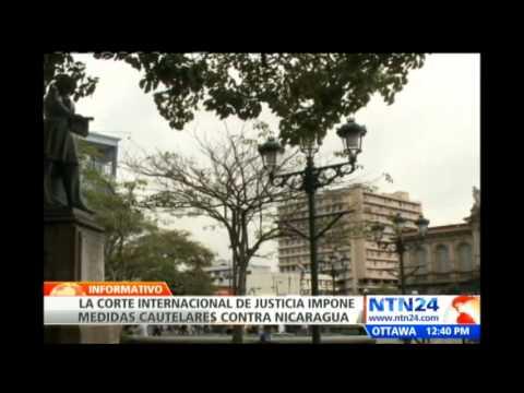 CIJ impone medidas cautelares contra Nicaragua por diferendo limítrofe con Costa Rica
