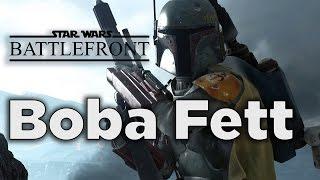 Boba Fett - Star Wars Battlefront Gameplay