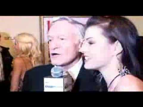 MARLENE INTERVIEWS HUGH HEFNER