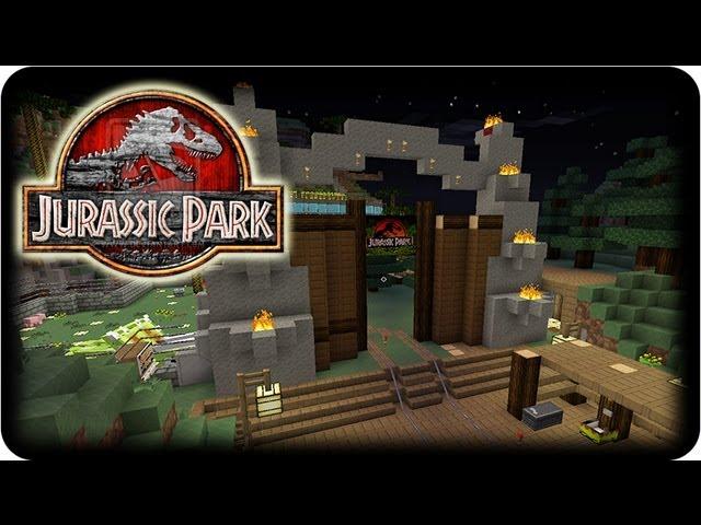 Minecraft Dinosaurs - ( Dinosaur & Mo' Creatures Mod ) - JURASSIC PARK UPDATE #2!
