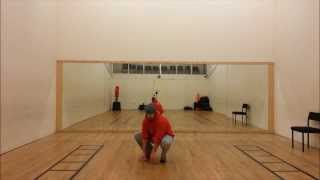 Front Spinning Sweep at The Shanti Academy, Poynton, Stockport  shantiacademy co uk