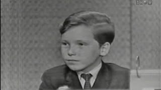 What's My Line? - Eddie Hodges; Ben Gazzara [panel] (Aug 2, 1959)