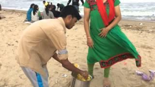 Marina Beach: Vijay