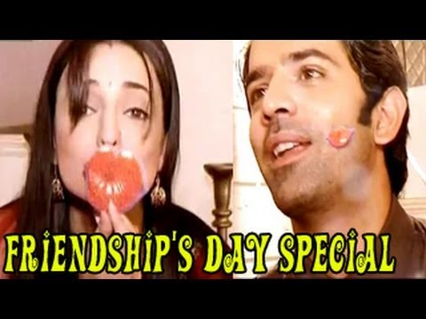 SPECIAL !! Arnav Khushi's FRIENDSHIP'S DAY CELEBRATION of Iss Pyaar Ko Kya Naam Doon 6th August 2012