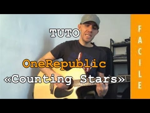 Onerepublic - Counting Stars - Tuto Guitare ( Facile ) video