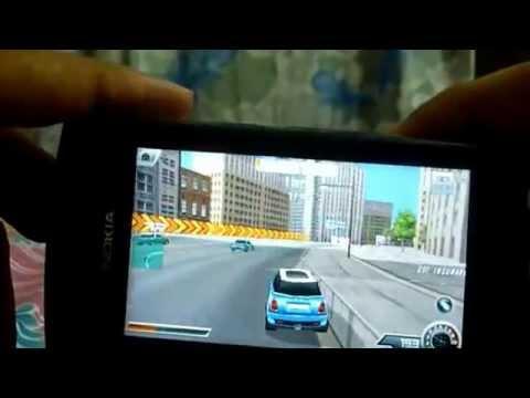 Nokia 500 games: Asphalt 4