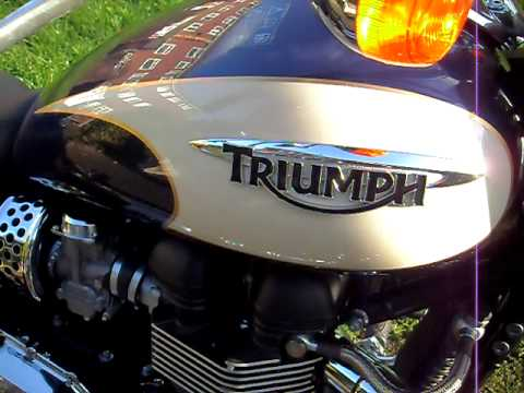 triumph bonneville america 2010 part 3 Video