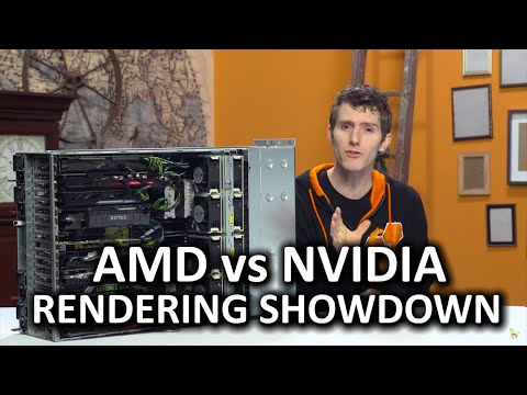 AMD vs Nvidia for Video Rendering - Adobe Premiere and Media Encoder