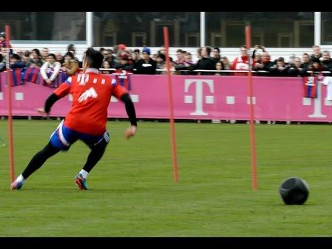 Individual training for Thiago Alcantara after long injury - Individualtraining nach Verletzung