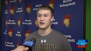 N. Schuylkill's Brian Dziczek Signs With Lycoming College for football- SSPTV News