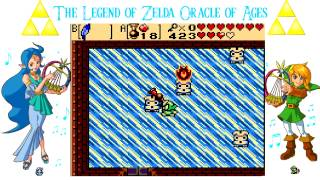 The Legend of Zelda Oracle of Ages #21 Ancient Blue Ring