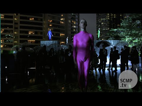 Hong Kong rooftop performance and art exhibition by Shen Wei