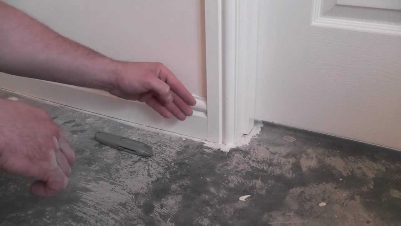 How To Remove Skirting Tutorial Youtube