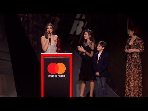 Dua Lipa wins British Breakthrough Act   The BRIT Awards 2018