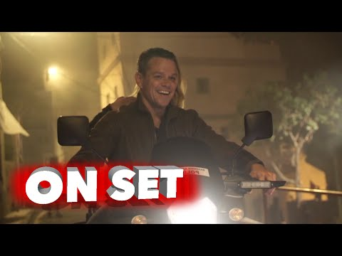 Jason Bourne: Behind The Scenes Exclusive Featurette - Matt Damon Movie Broll