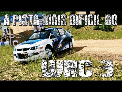 A pista mais dificil do WRC 3