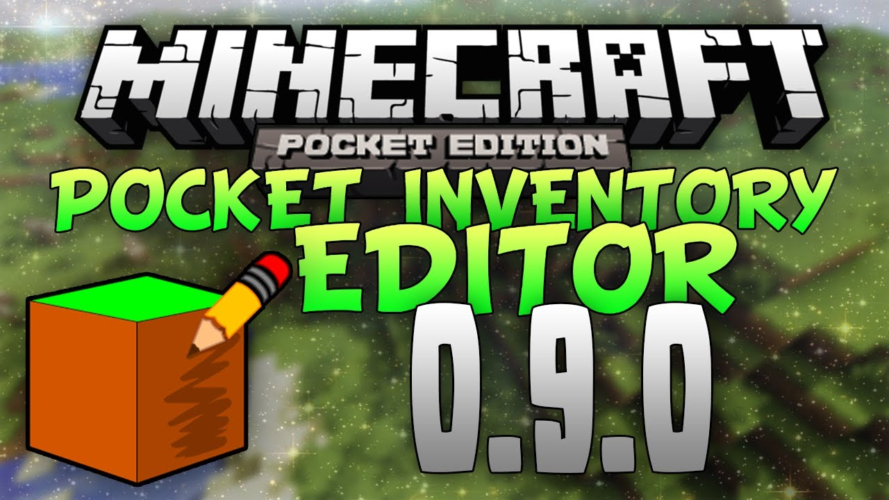 скачать pocket inv editor для minecraft pocket edition 010 5 #5
