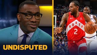 Kawhi Leonard was 'very LeBron James-esque' in Game 4 vs 76ers — Shannon Sharpe | NBA | UNDISPUTED