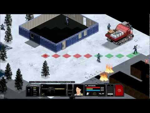 Xenonauts (Alpha17.5) - Battle on an Arctic Map with Water - (X-com like)