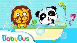 Baby Panda Loves Cleaning | Kids Good Habits | Kids Games | Gameplay Video | BabyBus Game
