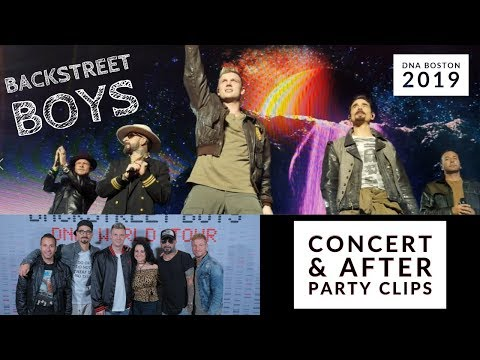 Backstreet Boys   DNA Boston Concert & After Party   August 2019   The_Real_Gisele
