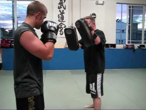 Real Elite MMA Pad Holding Part 1 Image 1