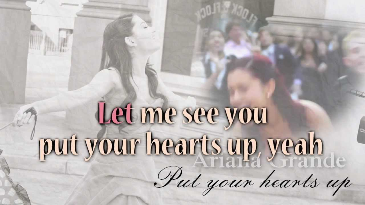 Ariana grande put your hearts up download