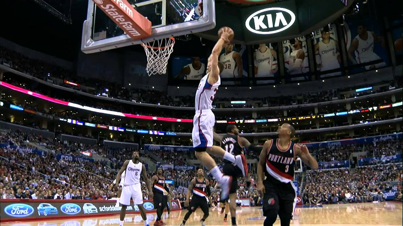 Alley Oop Basketball Alley-oop to Blake Griffin