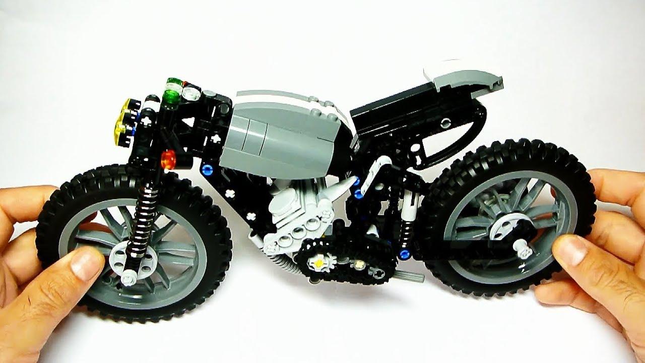 Lego Cafe Racer Instructions 1stmotorxstyle