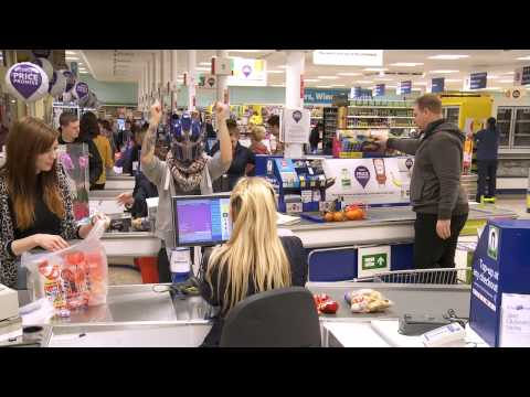 TESCO SHAKE - BEDFORDS OWN HARLEM SHAKE FOR DIABETES UK