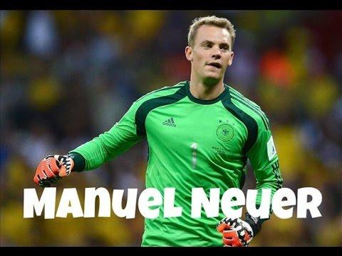 Manuel Neuer - Germany - Best Saves - World Cup Brasil 2014.