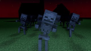 Download Lagu Minecraft - Spooky Scary Skeletons (Remix) - Minecraft Animation Music Video Gratis STAFABAND