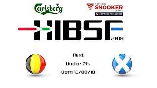 HIBSF Live Stream 2018 - U21 - Belgium vs Scotland