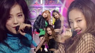 Exciting Blackpink 블랙핑크 Boombayah 붐바야 A인기가요 Inkigayo 20160821