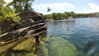 Quarry Jumping 2012