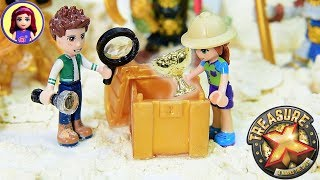 Digging for Gold | Treasure X Fossicking with Lego Friends Kids Toys
