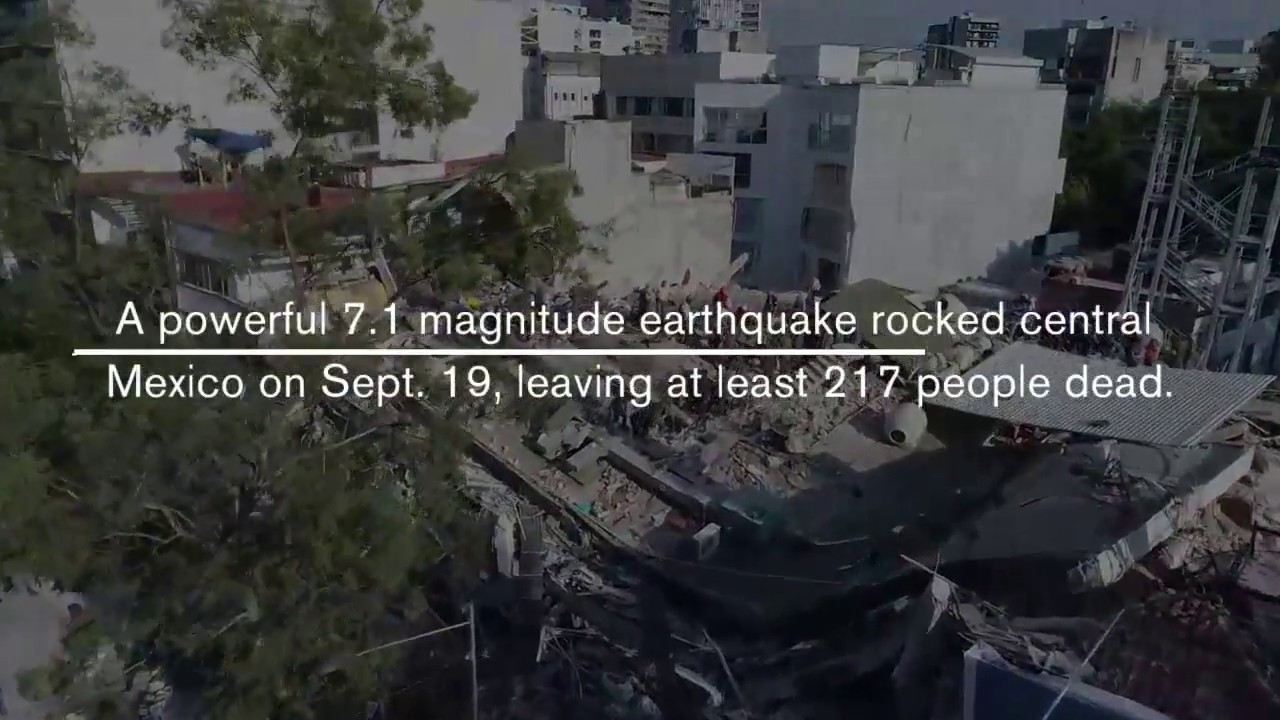 More Than 200 Dead As Powerful 7.1 Earthquake Strikes Central Mexico | Los Angeles Times